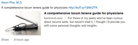 LinkedIn Post - 10 Ways Doctors Can Make the Most of Social Media