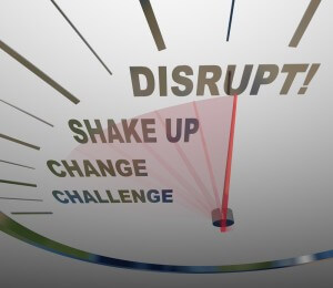 disrupt 300x260 - Using Open Innovation to Deliver High-End Healthcare Disruption