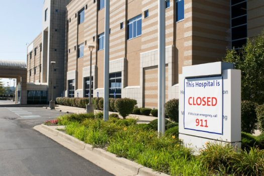 Closed_Hospital Rural Hospital Closures: How Telemedicine Could Provide Relief