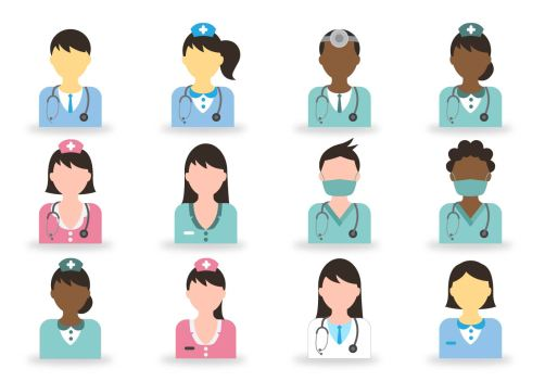 vector-doctor-and-nurse-icon 5 Unique Benefits of Working in Healthcare