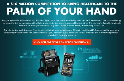 qualcomm tricorder - 17 Amazing Healthcare Technology Advances