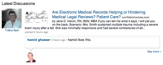 LinkedIn-Discussions 12 Ways to Market Your Medical or Dental Practice With LinkedIn