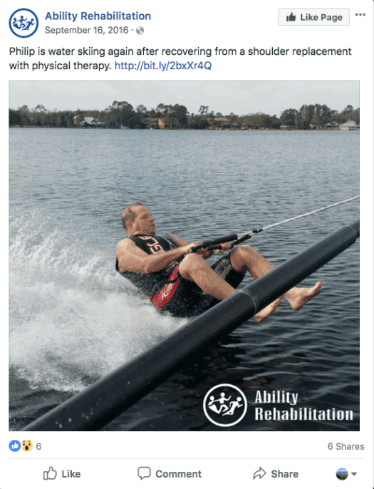 Water skiing - 5 Ways to Make Your Practice More Patient-Centric