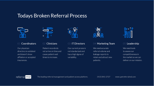 brokenreferral What is the Solution to Streamline Healthcare Delivery?