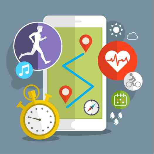 stock-photo-smart-phone-with-sport-icons-fitness-app-concept-on-touchscreen-flat-design-328686572 Health Behaviors: Can they change and can technology facilitate?