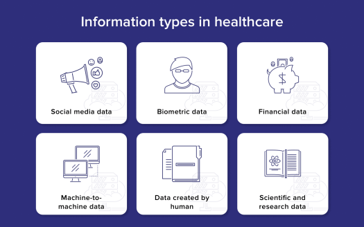 information-types-in-healthcare Big Data in Healthcare: 7 Use Cases