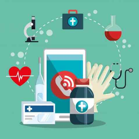 medical-service-line-with-smartphone_24877-51515 Time to Solve Advanced QA Challenges in the Healthcare Industry