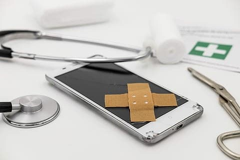 patch association mobile phone smartphone thumbnail - Healthcare Text Messaging and Patient Engagement