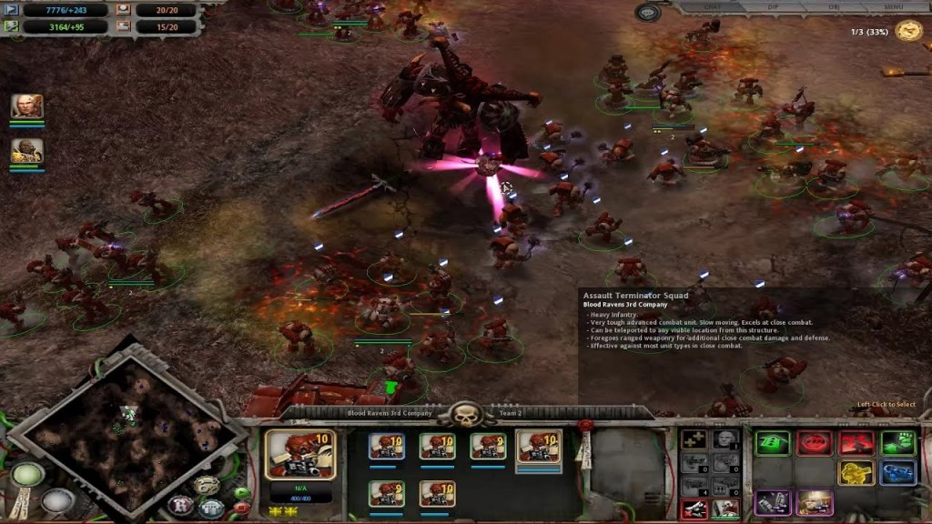 Warhammer 40000 Dawn of War joc de strategie