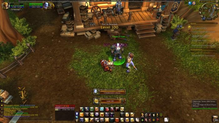 World of Warcraft Level
