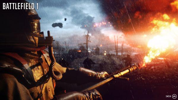 Battlefield 1 fire