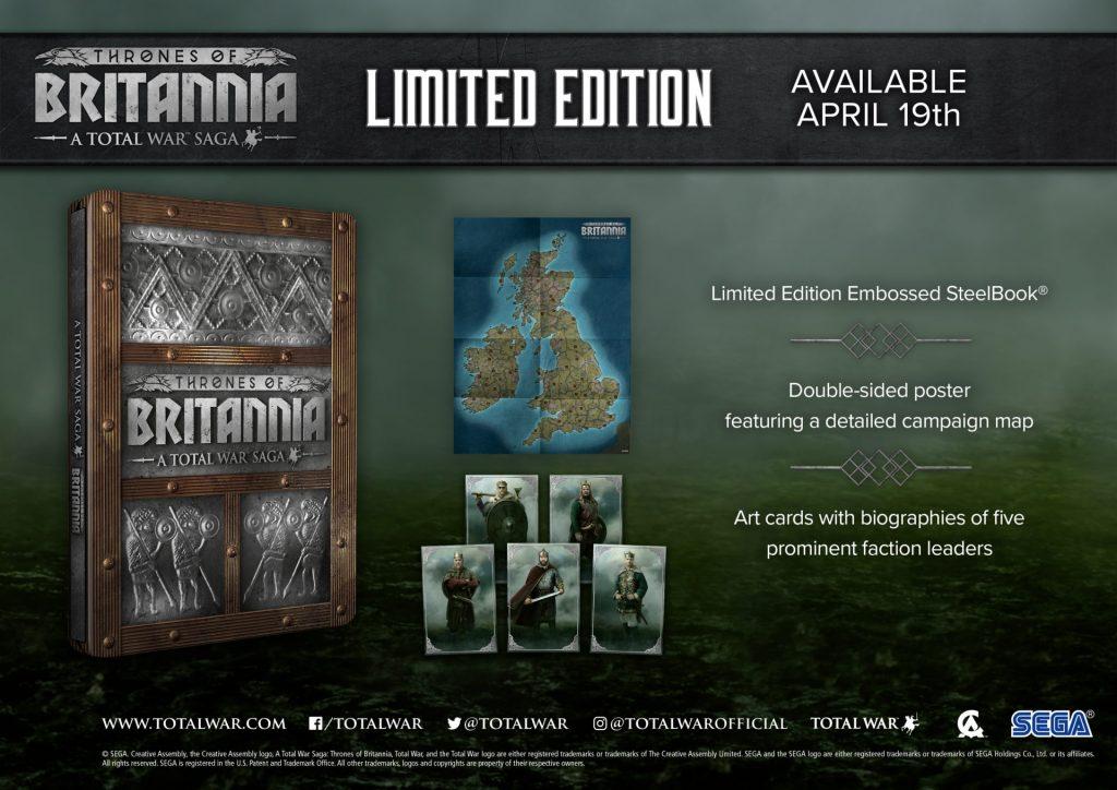 Thrones of Britannia Limited Edition