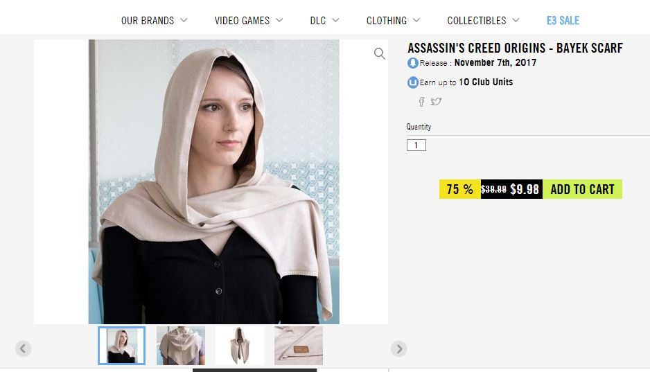 Assassin's Creed Scarf