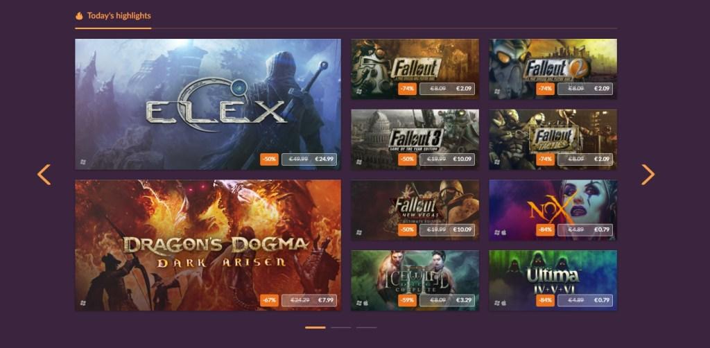 Gog Summer Gaming Sale Oferte