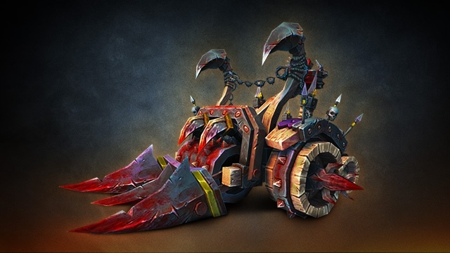 Meat Wagon mount Warcraft 3 Reforged