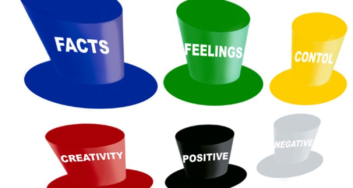 Get Results: Six thinking hats