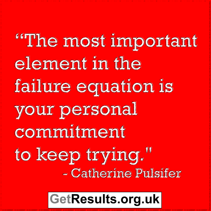 Get Results: commitment