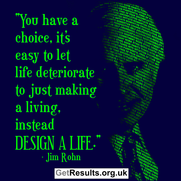 Get Results: Jim Rohn quotes