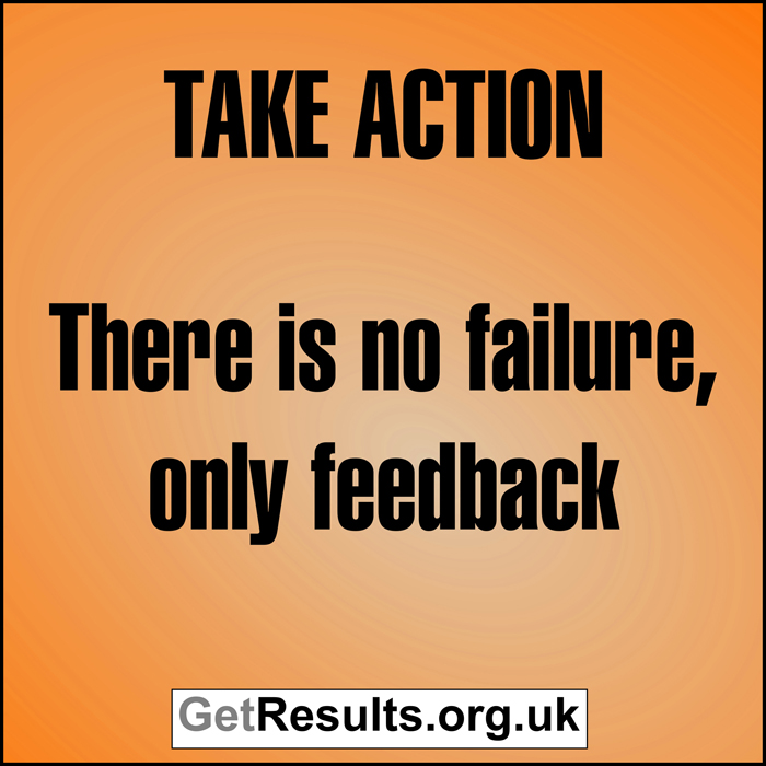 Get Results: take action