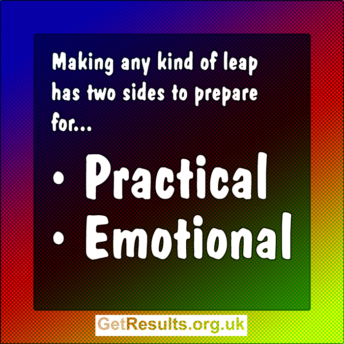 Get Results: emotional and practical