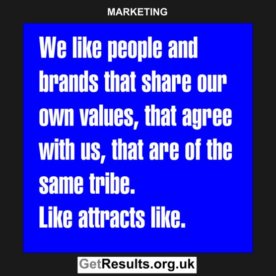 Get Results: marketing quotes like attract