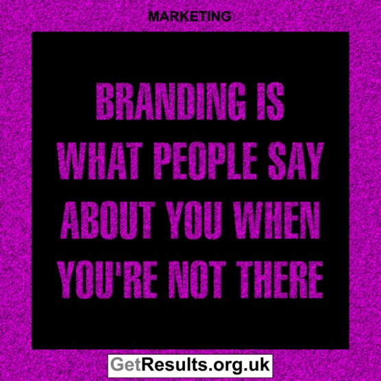 Get Results: marketing quotes what people say about you