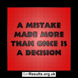 Get Results: more than one mistake