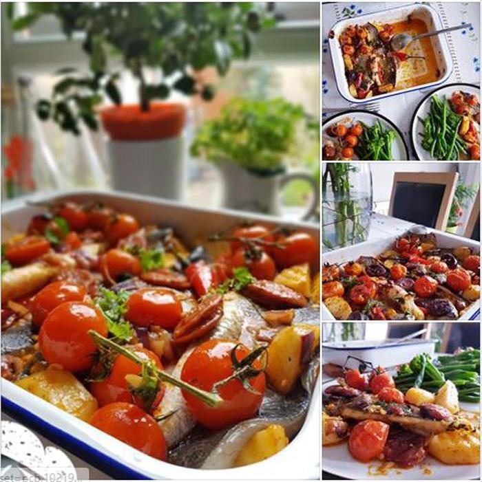Get Results: baked seabass fillet
