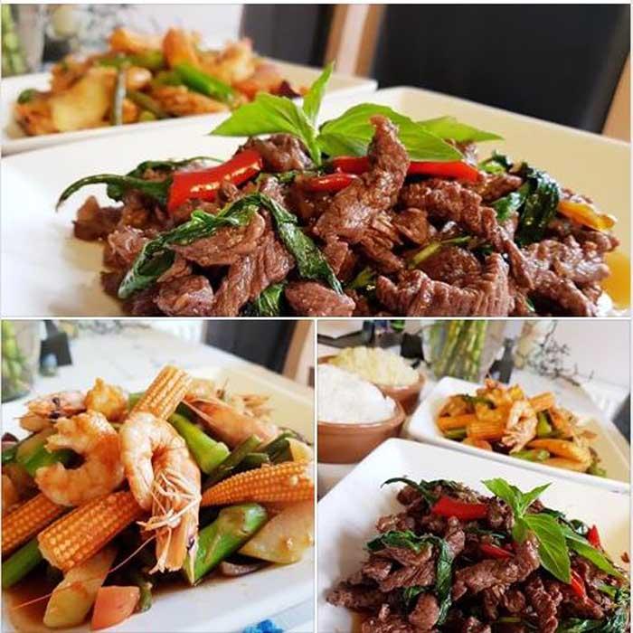 Get Results: healthy eating - thai beef stir fry