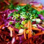 Ginger Cabbage Slaw