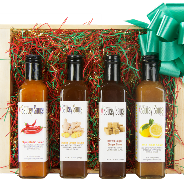 Saucey Sauce Holiday Gift Box