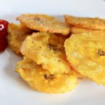 Crispy Tostones with Saucey Ketchup‏