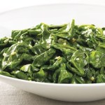 Spicy Sauteed Spinach