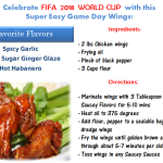 Super Easy Game Day Wings- FIFA World Cup