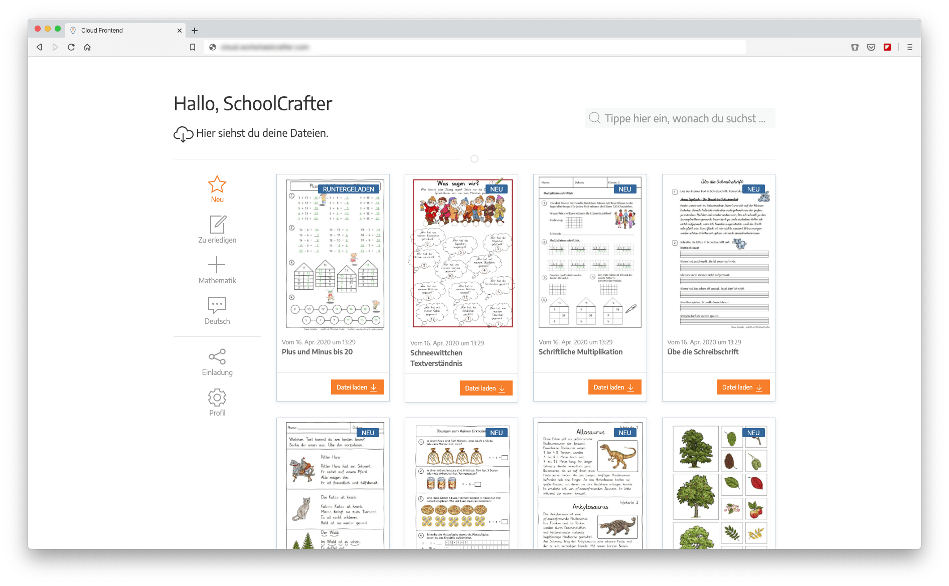 Worksheet Crafter