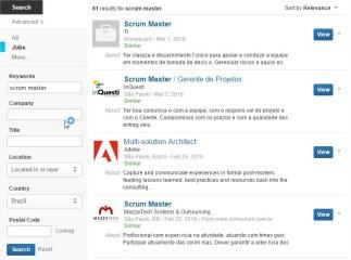 Scrum Master Jobs Brazil
