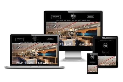 Vanished Valley Brewing Co. Website