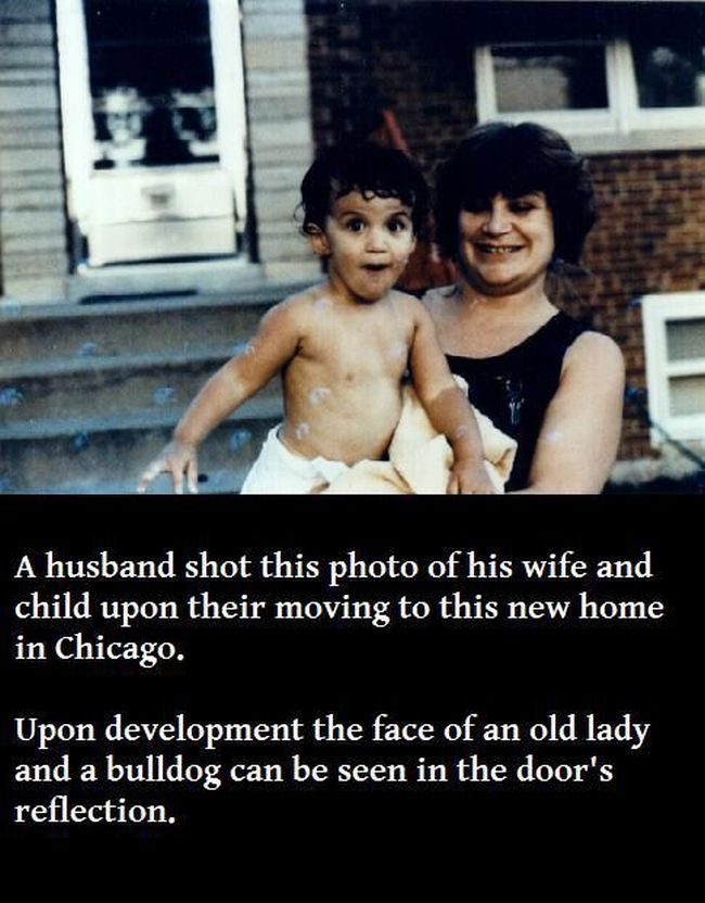 The Ghost of the Old Woman and Her Bulldog