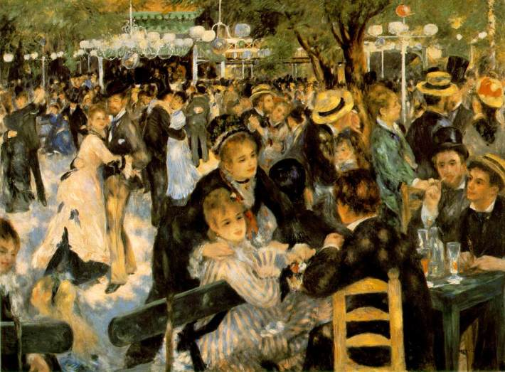 Dance at Le Moulin de la Galette | Painted by Pierre Auguste Renoir | 25 Most Expensive Paintings in the World