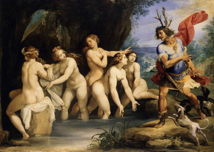 Diana and Actaeon | Painted by Titian | 25 Most Expensive Paintings in the World