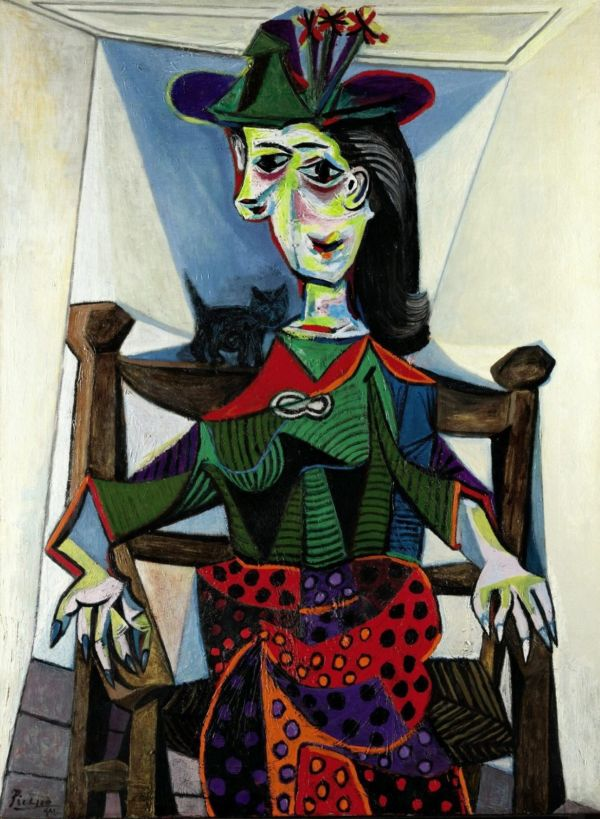 Dora Maar with Cat | Painted by Pablo Picasso | 25 Most Expensive Paintings in the World