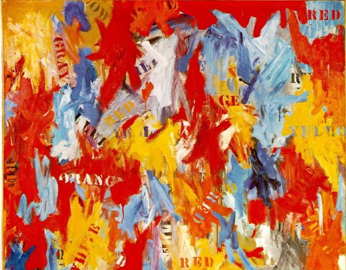 False Start | Painted by Jasper Johns | 25 Most Expensive Paintings in the World