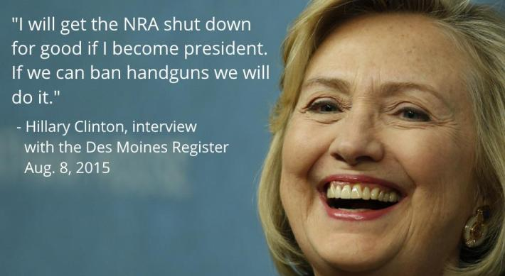 Hillary Clinton | Shut Down NRA