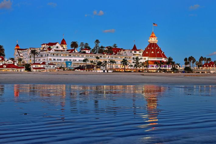Hotel del Coronado - California | 25 Most Haunted Hotels of the World