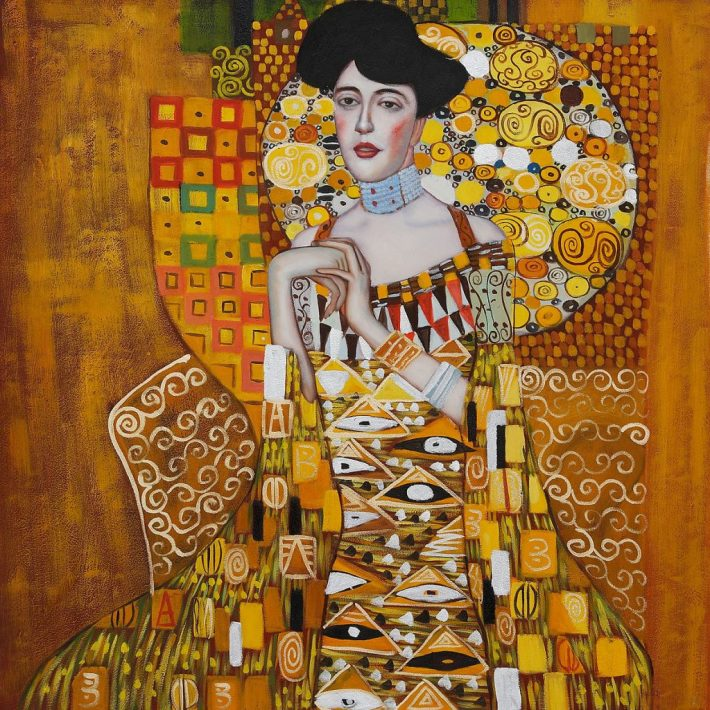 Portrait of Adele Bloch-Bauer I | Painted by Gustav Klimtd | 25 Most Expensive Paintings in the World