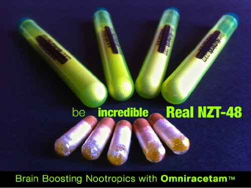 Limitless NZT-48- 4+5 Doses – Powerful Nootropic Brain-Boosting Nutrients