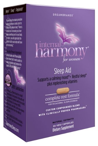 Dream Brands Internal Harmony Sleep Aid, 30 Count