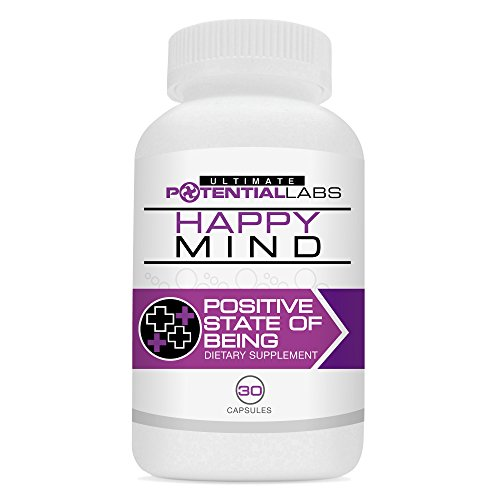 Happy Mind – Eliminate Stress, Anxiety & Panic Attacks with this Fast Acting Natural Herbal Dietary Nutritional Supplement* Use Daily to Enjoy Stress Reduction, Relaxation, Enhanced Mood, Calm, & Overall Happiness & Well Being without Harmful Drugs* Guaranteed to Work or Your Money Back