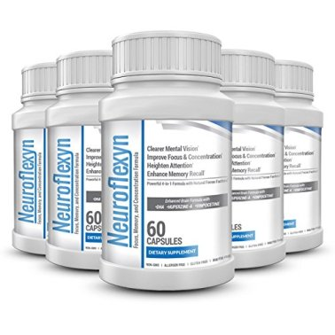 Neuroflexyn-Focus-Memory-and-Concentration-Formula-5-bottles-300-capsules-0