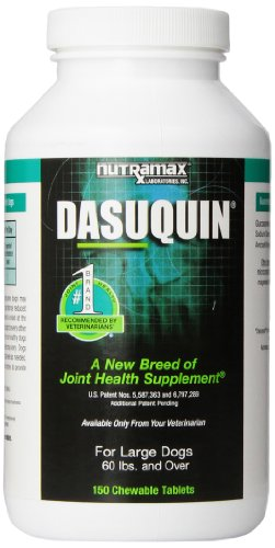 Nutramax Dasuquin for Dogs Over 60 Pounds – 150 Tablets